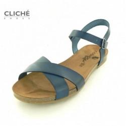 Modré sandálky Cosmos...