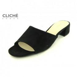 Černé pantofle Gabor 21.700.47