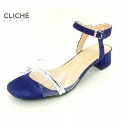 Modré sandálky Zoe
