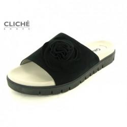 Černé pantofle Gabor 23.745.17