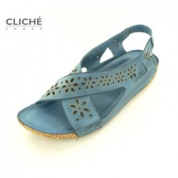 Sandále modré, 2314-535