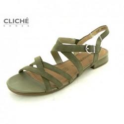 Nadměrné zelenkavé sandály,...