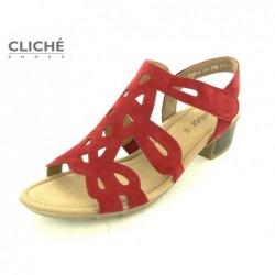 Červené sandále Gabor...