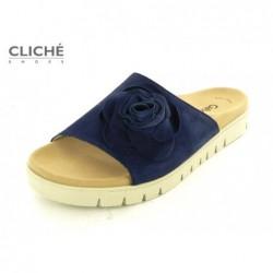 Modré pantofle Gabor 23.745.16