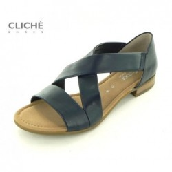 Tmavě modré sandále Gabor...