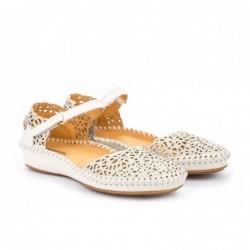 Sandálky Vallarta, krémové,...