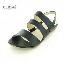 Sandále černé Fabia 11