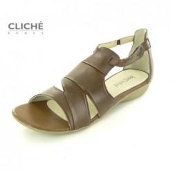 Sandále hnědé Fabia 03