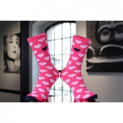 Ponožky růžová srdíčka, 1...