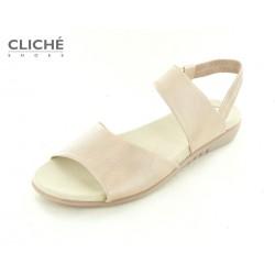 Pastelově růžové sandálky...