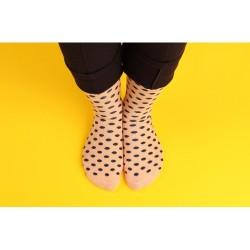 Ponožky nude, modré...