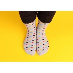 Ponožky barevné puntíky, 1...