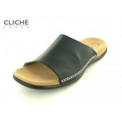Černé pantofle Gabor 03.705.27