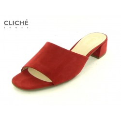 Červené pantofle Gabor...