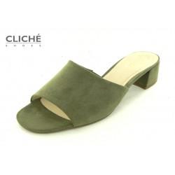 Zelené pantofle Gabor...