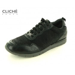 Černé elegantní tenisky,...