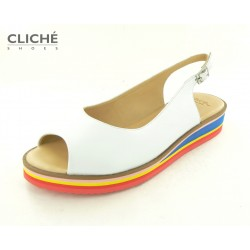 Bílé sandály ARA, barevná...