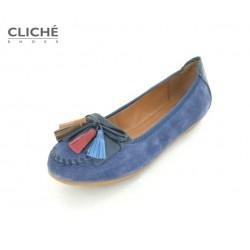 Mokasíny tmavě modrá, Pippa 09