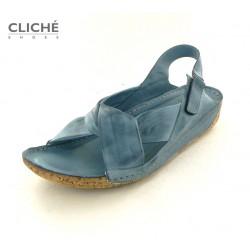 Sandále modré, 2024-535