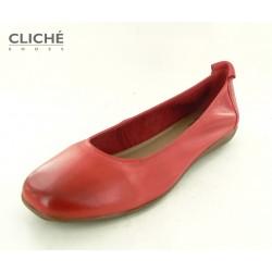 Nadměrné červené baleríny...