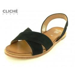 Černé sandále, Ara Kent,...