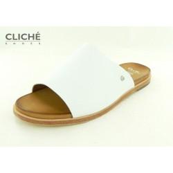 Elegantní bílé pantofle Ara...