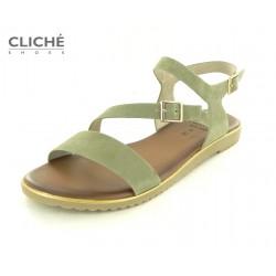 Zelené nadměrné sandále,...