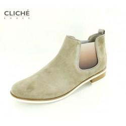 Nadměrná obuv, semišová...