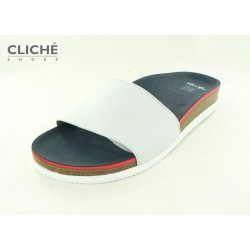 Korkové bílé pantofle Ara...