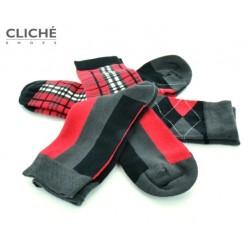Ponožky Socks in box, Red...