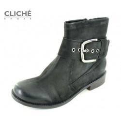 Kotníkové boty Massa, černá