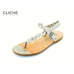 Metalické sandálky mezi...