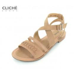 Kožené sandále Mimi,...