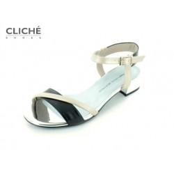 Metalické sandálky Zoe,...