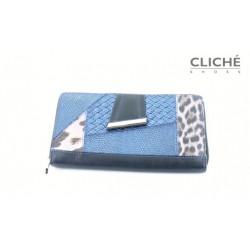 Luxusní  kožená peněženka...
