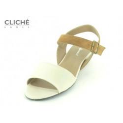 Letní sandály na klínku,...