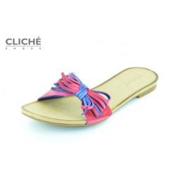 Pantoflíčky, růžová, výprodej