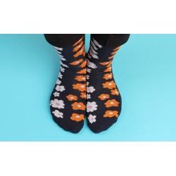 Ponožky modré kytičky, 1...